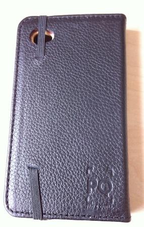 Test LittlePocketBook 003 Test de létui Little Pocket Book (46€) pour iPhone de Pad&Quill