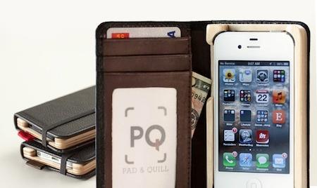 Test LittlePocketBook 013 Test de létui Little Pocket Book (46€) pour iPhone de Pad&Quill
