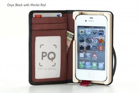 Test LittlePocketBook 019 Test de létui Little Pocket Book (46€) pour iPhone de Pad&Quill