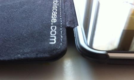 Test Mobilis 007 Accessoire : Test de la coque Mobilis iPad Case 2 (25€)