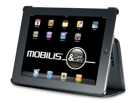 Test Mobilis 015 Accessoire : Test de la coque Mobilis iPad Case 2 (25€)