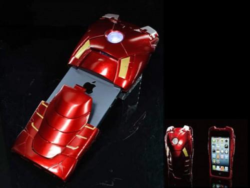 coque Iron Man iPhone 5 3 500x375 Accessoire : Test de la coque MARVEL Iron Man Mark VII (49,00$) pour iPhone 5
