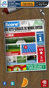 goal 1 169x300 Lapplication gratuite du jour: Score! World Goals