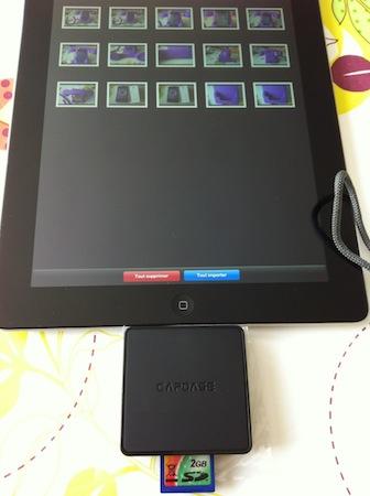 Ccrs CapdaseConnector 003 Accessoire : Capdase Dock Connector 3 slots (29,49€) pour iPad