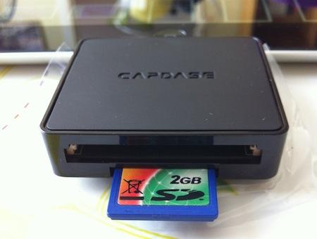 Ccrs CapdaseConnector 007 Accessoire : Capdase Dock Connector 3 slots (29,49€) pour iPad