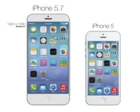 Concept iPhone 57 pouces Concept : un iPhone de 5,7 pouces