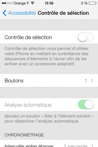 Controle facial ios 7 1 333x500 Aperçu iOS 7 par App4Phone : contrôle diPhone ou iPad avec la tête