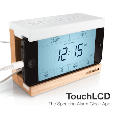 Crs Snooze 004 Concours : 1 dock Snooze (compatible iPhone 4) pour Touch LCD