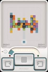 IMG 1867 Mosaique : Un puzzle game intéressant mais trop limité... (0,89€)