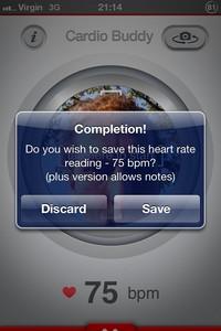 IMG 1882 L'application gratuite du Jour : Cardio Buddy Free