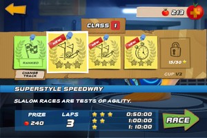 IMG 2427 L'application gratuite du Jour : Turbo Racing League