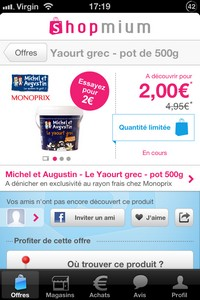 IMG 2558 L'application gratuite du Jour : Shopmium