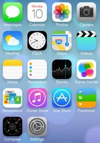 IOS 7 logo iOS 7 : récapitulatif des aperçus de nouveautés