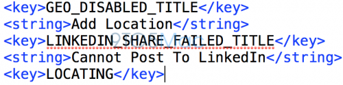 Integration linkedin ios 7 1 500x124 Apple souhaiterait intégrer LinkedIn nativement au sein diOS 7