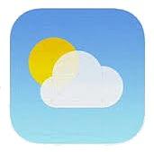 Meteo ios 7 logo1 Aperçu diOS 7 par App4Phone : Météo