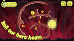 RollingHero Capt1 L'application gratuite du jour : Rolling Hero