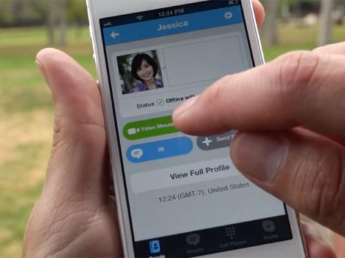 Skype message video 1 500x375 Passez des appels en HD avec la version 4.10 de Skype (gratuit)