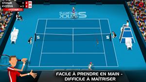Stick Tennis 1 L'application gratuite du jour : Stick Tennis
