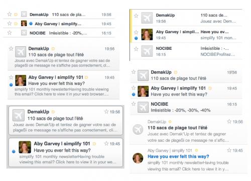 Test AirMail 2 500x360 App4Mac: Airmail, votre prochain client mail (1,79€)