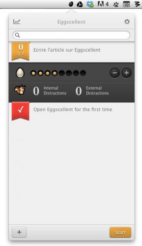 Test Eggscellent 2 289x500 App4Mac: Eggscellent, un excellent gestionnaire de temps? (8,99€)