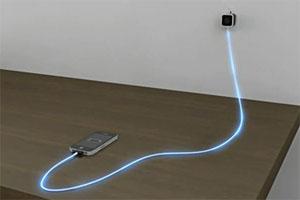 Test DeximUsb 004 Test du Chargeur luminescent iPhone, iPod et iPad   Dexim Visible Blue Cable