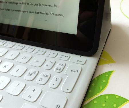 Test FabricSkin 004 Test du FabricSkin Keyboard (149€) de Logitech, coque avec clavier intégré pour iPad 2 à 4