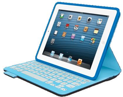 Test FabricSkin 013 Test du FabricSkin Keyboard (149€) de Logitech, coque avec clavier intégré pour iPad 2 à 4