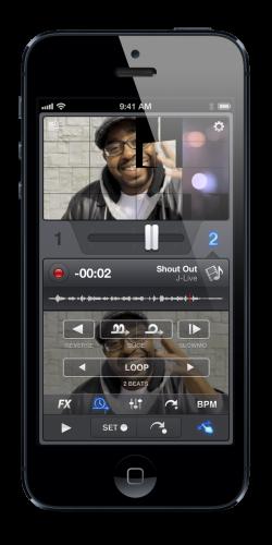 application vjay 1 250x500 Vjay, application de mixage de vidéo, est temporairement gratuite !