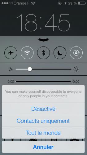 iOS 7 AirDrop 4 281x500 Aperçu diOS7 par App4Phone : AirDrop en action !