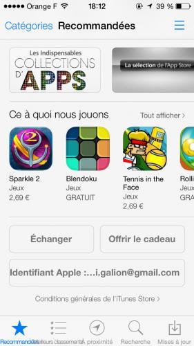 iOS 7 App Store 1 281x500 Aperçu iOS 7 par App4Phone : lApp Store