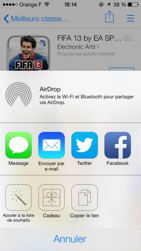 iOS 7 App Store 6 281x500 Aperçu iOS 7 par App4Phone : lApp Store
