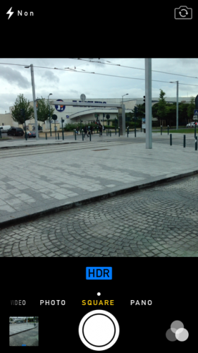 iOS 7 appareil photo 2 281x500 Aperçu diOS 7 par App4Phone : lappareil et lalbum photo