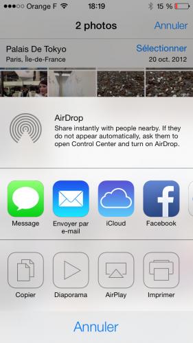 iOS 7 appareil photo 6 281x500 Aperçu diOS 7 par App4Phone : lappareil et lalbum photo