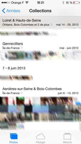 iOS 7 appareil photo 71 281x500 Aperçu diOS 7 par App4Phone : lappareil et lalbum photo