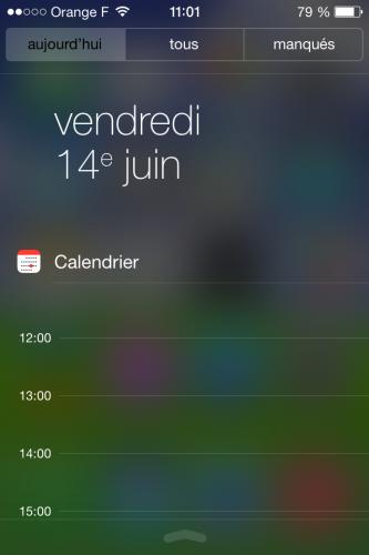 iOS 7 centre notifications 1 333x500 Aperçu diOS 7 par App4Phone : le Centre de notifications