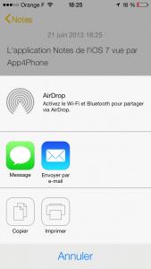 iOS 7 notes 4 169x300 Aperçu diOS 7 par App4Phone : Lapplication Notes