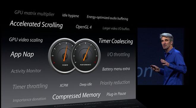 keynote OS X WWDC 13 : Tout savoir sur le nouvel OS X 10.9 et ses nouveautés