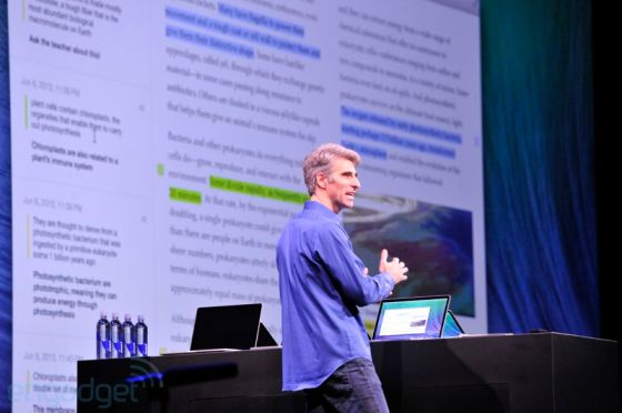 keynote apple 44 WWDC 13 : Tout savoir sur le nouvel OS X 10.9 et ses nouveautés