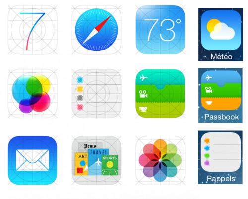 logo application iOS 7 site Apple 500x402 iOS 7 : Les logos des applications dApple amenés à évoluer ?