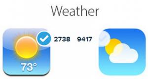 logo sondage iOS 7 iOS 6   2 300x160 Les logos diOS 7 finalement préférés à ceux diOS 6 !