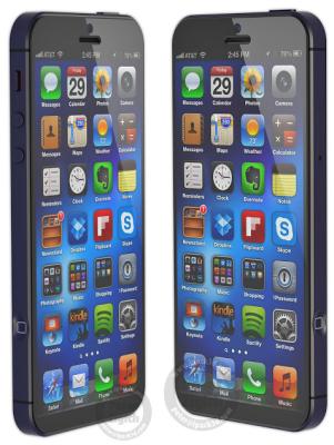 rumeur iPhone 6 57 pouces Les rumeurs de la semaine: iOS 7, iPad mini 2, iPhone 6, iPad 5...