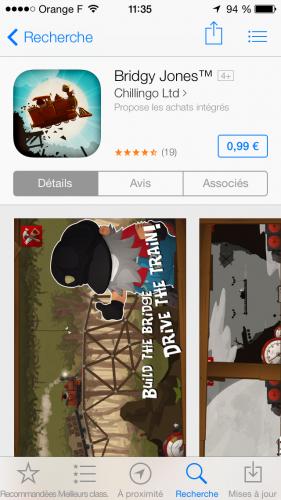 screenshot 99cts application 281x500 Des nouveaux tarifs pour les applications de lApp Store...
