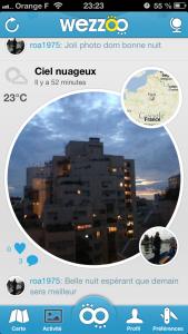 wezzoo 21 169x300 Lapplication gratuite du jour: Wezzoo   La météo en temps réel