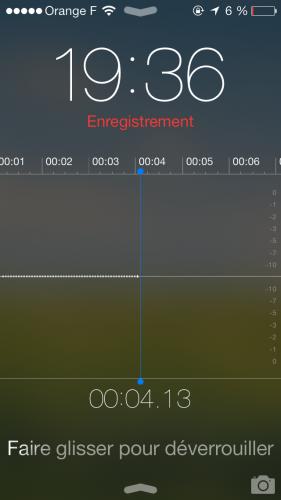 Aperçu iOS 7 dictatphone 5 281x500 Aperçu iOS par App4Phone : le dictaphone