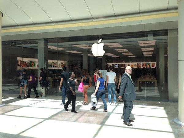 Apple Store Rosny 1 Petite prime de participation pour les employés dApple Retail France