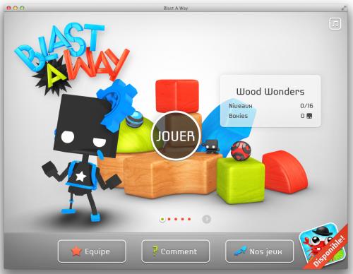 Capture d'écran 2013 07 02 à 20.24.12 500x388 App4mac: Blast A Way, un puzzle en trois dimensions (4,49€)