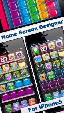 Home Screen Designer Les bons plans de l'App Store ce vendredi 26 juillet 2013