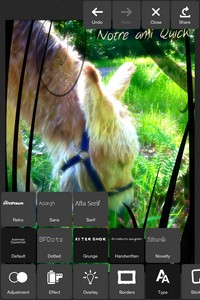 IMG 2783 L'application gratuite du Jour : Pixlr Express PLUS