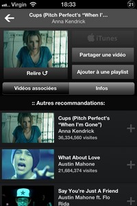 IMG 3096 L'application gratuite du Jour : VEVO