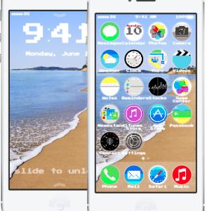 IOS 7 App4Phone personnalisé 295x300 iOS 7 : personnalisez à votre guise (webapp)